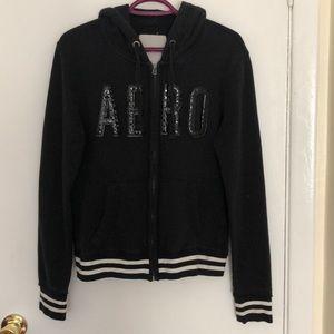 Aeropostale zip-up sweater
